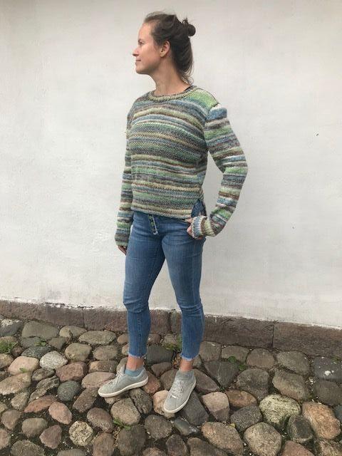 Gratis strikkeopskrift på sweater