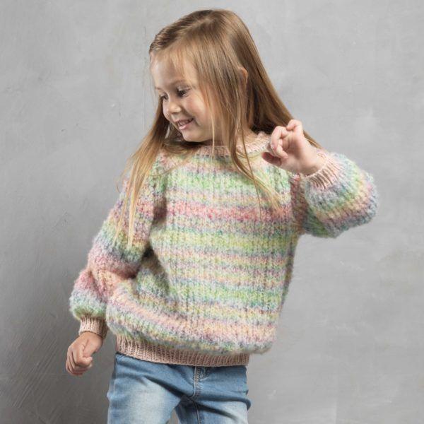 Opskrift på pigesweater