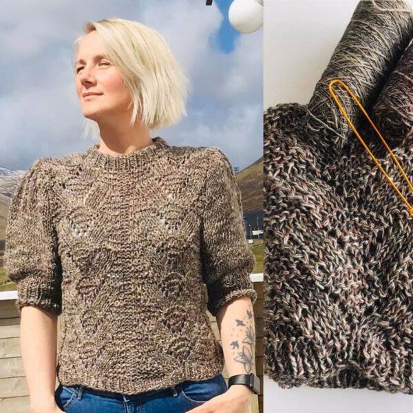 Ragnhild Sweater (Knit by Siw) i merino uldgarn