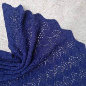 Opskrift på strikket babytæppe