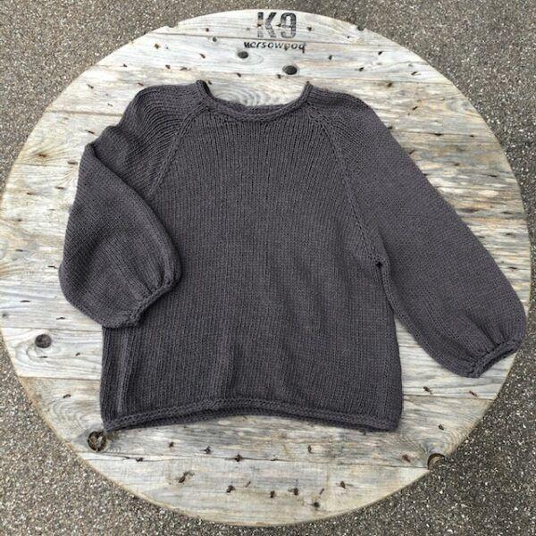 Sweater No. 6 i blødt bomuldsgarn