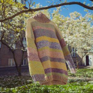 Opskrift på strikket oversized sweater