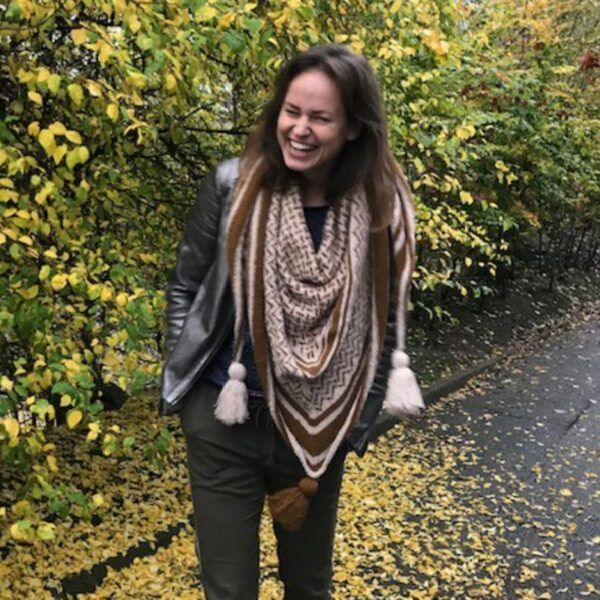 Schal angora merino Susie Haumann