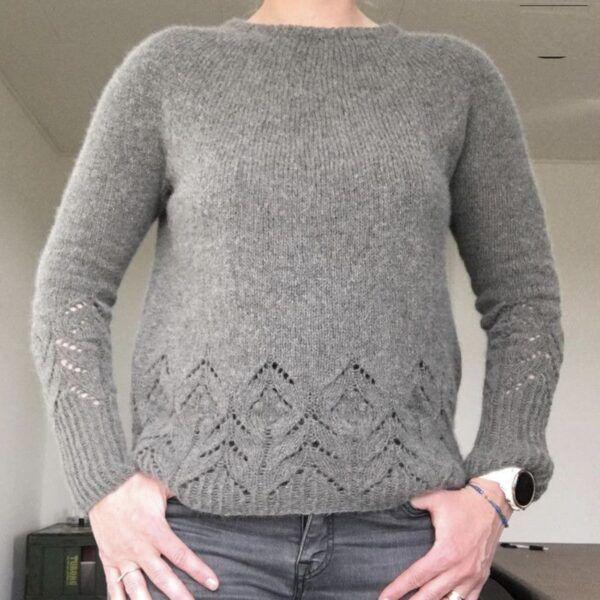 Magnolia Sweater i Angora merino