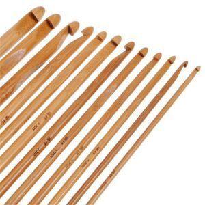 Häkelnadeln aus Bambus