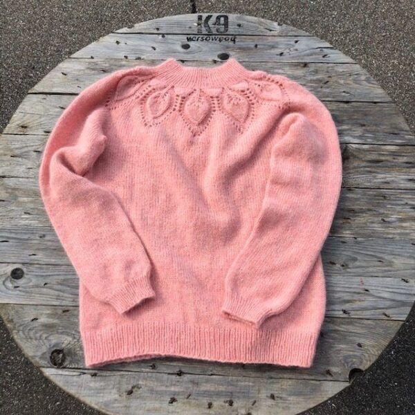 Dahlia Sweater Angora merino wolle