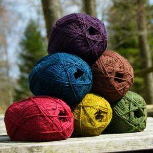 Neuseeländische Sockenwolle